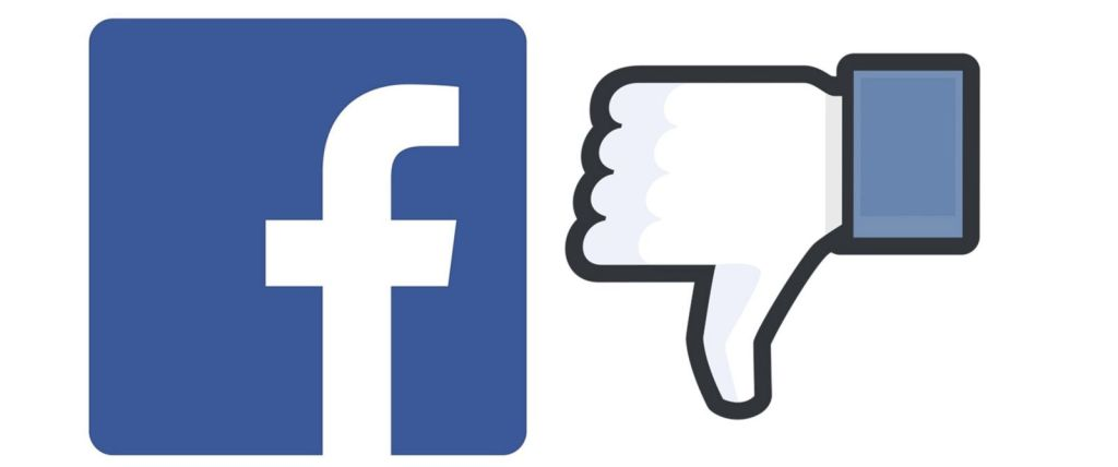 Facebook dislike, thumbs down, Facebook addiction